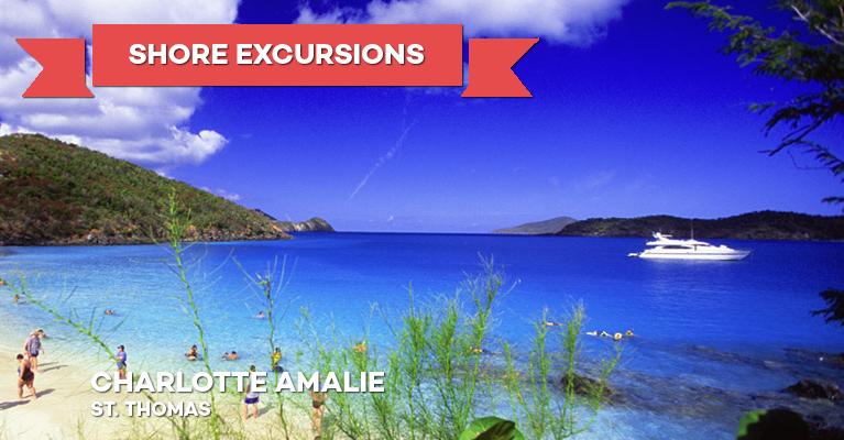 Sales Cruise Shore Excursions Charlotte Amalie St Thomas